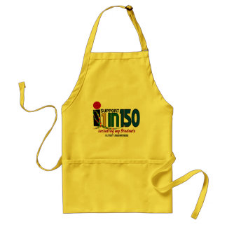 I Support 1 In 150 & My Students AUTISM AWARENESS Aprons