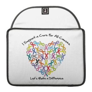 I Support a Cure Let's Make a Difference Sleeves For MacBook Pro