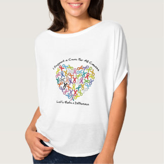I Support a Cure Let's Make a Difference T-Shirt