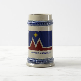 I Support a New Flag for Montana Beer Stein