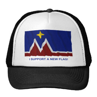 I Support a New Flag for Montana Trucker Hat