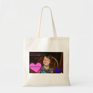 I Support Anna and Autism Awareness Tote Bag