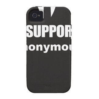 I support Anonymous iPhone 4/4S Covers