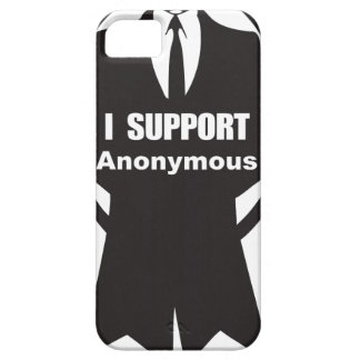 I support Anonymous iPhone 5 Covers