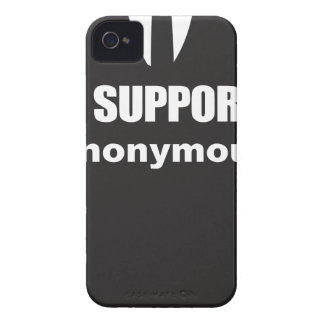 I support Anonymous iPhone 4 Covers