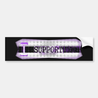 I Support Anxiety! Car Bumper Sticker