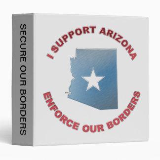 I Support Arizona 3 Ring Binder