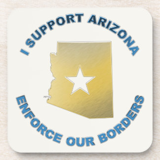I Support Arizona Beverage Coasters