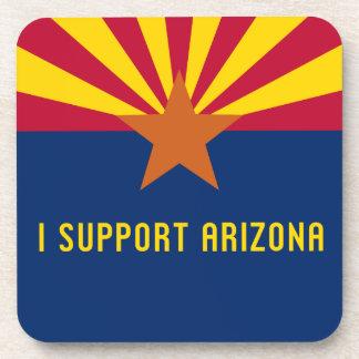 I Support Arizona Drink Coaster