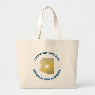 I Support Arizona Jumbo Tote Bag