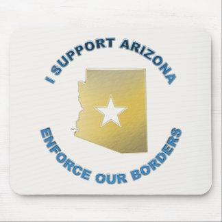 I Support Arizona Mouse Pad