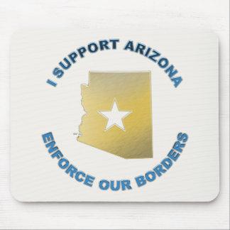 I Support Arizona Mousepad