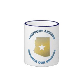 I Support Arizona Ringer Coffee Mug
