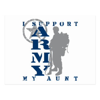 I Support Aunt 2 - ARMY Postcard