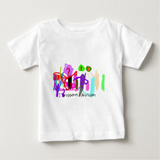 I support Autism Baby T-Shirt