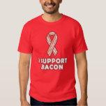 I support bacon tshirt