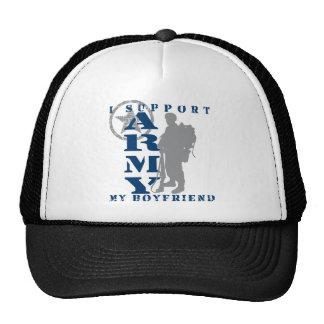 I Support Boyfriend 2 - ARMY Trucker Hat