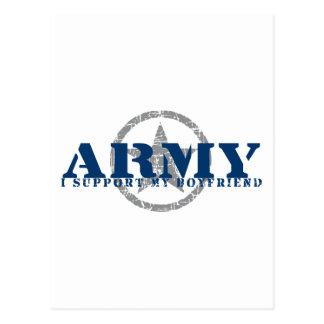 I Support Boyfriend - ARMY Postcard