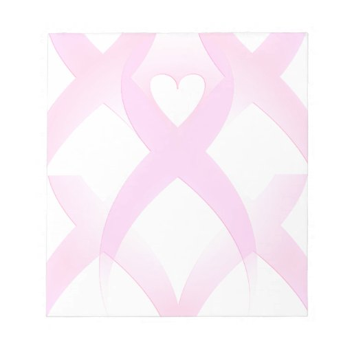 I Support,Breast Cancer Awareness_ Memo Pad