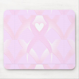 I Support,Breast Cancer Awareness_ Mouse Pad