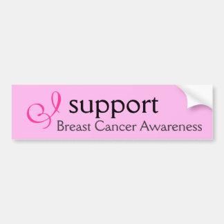 I support Breast Cancer Awareness - Sticker