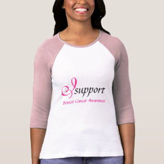 I support Breast Cancer Awareness - Tshirt
