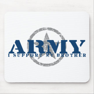 I Support Brother - ARMY Mouse Pad