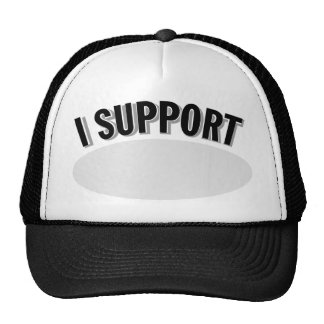 I Support Cancer Awareness Trucker Hat