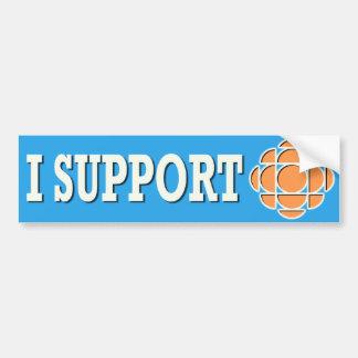 I support CBC Bumper Sticker