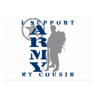 I Support Cousin 2 - ARMY Postcard