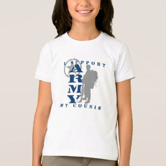 I Support Cousin 2 - ARMY T-Shirt