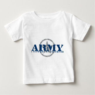 I Support Daughter - ARMY Baby T-Shirt