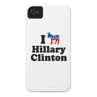 I SUPPORT DEMOCRAT HILLARY CLINTON Case-Mate iPhone 4 CASES