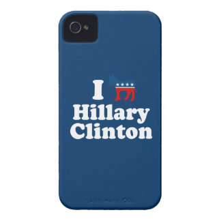 I SUPPORT DEMOCRAT HILLARY CLINTON iPhone 4 COVERS