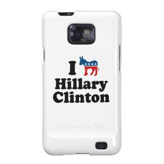 I SUPPORT DEMOCRAT HILLARY CLINTON png Galaxy S2 Case