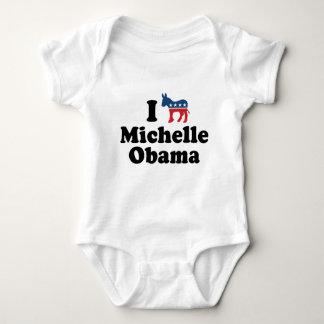 I SUPPORT DEMOCRAT MICHELLE OBAMA -.png T-shirt