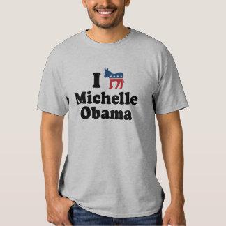 I SUPPORT DEMOCRAT MICHELLE OBAMA -.png Tees
