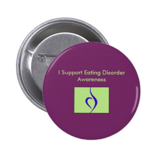 I Support Eating Disorder Awareness Button
