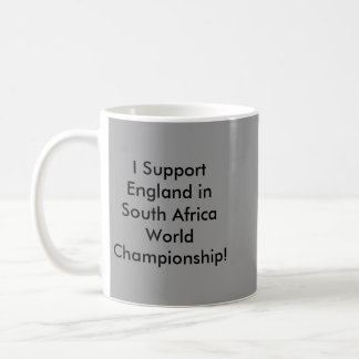 I Support England in South Africa... Canecas