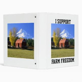 I Support Farm Freedom Binder