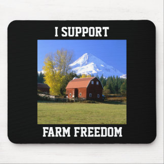 I Support Farm Freedom Mouse Pad