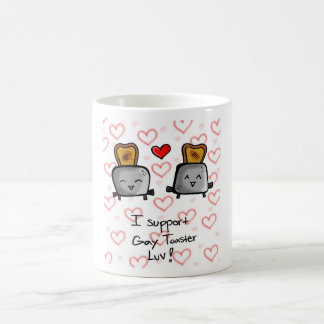 I support Gay Toaster Love! Coffee Mugs