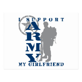 I Support Girlfriend 2 - ARMY Postcard