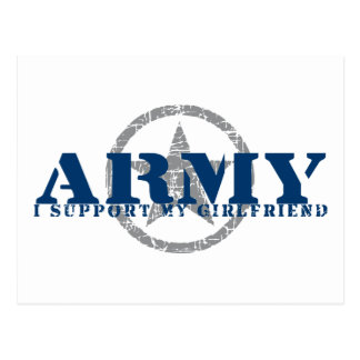 I Support Girlfriend - ARMY Postcard