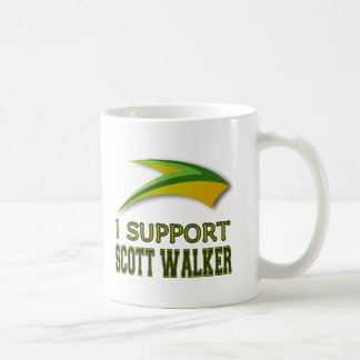I Support Governor Scott Walker of Wisconsin Classic White Coffee Mug