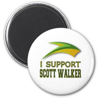 I Support Governor Scott Walker of Wisconsin Fridge Magnets