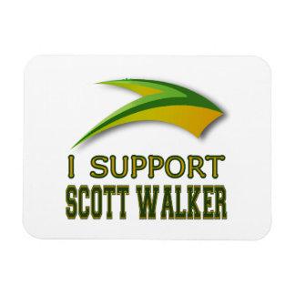 I Support Governor Scott Walker of Wisconsin Vinyl Magnets