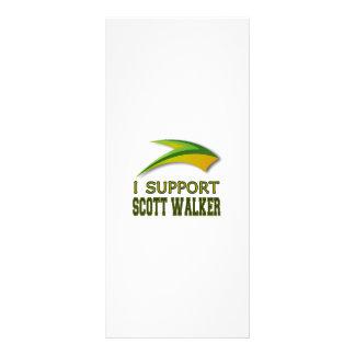 I Support Governor Scott Walker of Wisconsin Rack Card