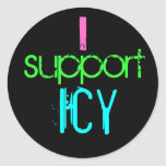 I support ICY stickers