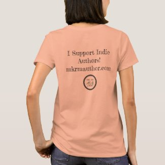 I Support Indie Authors! MKRM Logo Apparel